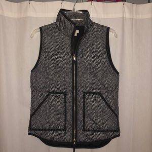 Jcrew Herringbone Excursion Vest